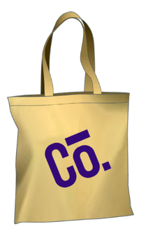 your company branded tote bag
