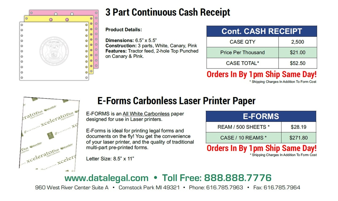 3-part-continuous-michigan-court-receipt-Eforms-carbonless-laser-sheets-july-2016-pricing