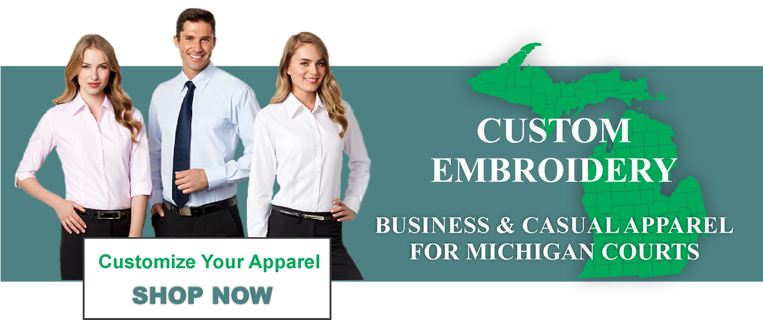 Custom Embroidered Apparel Michigan Court